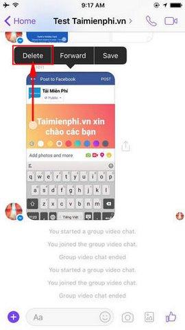 Facebook Messenger cho iPhone