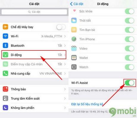 huong dan sua iphone khong ket noi duoc wifi iOS 10.2