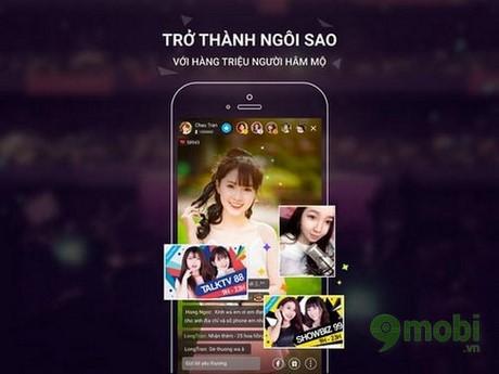 ung dung live stream video cho dien thoai