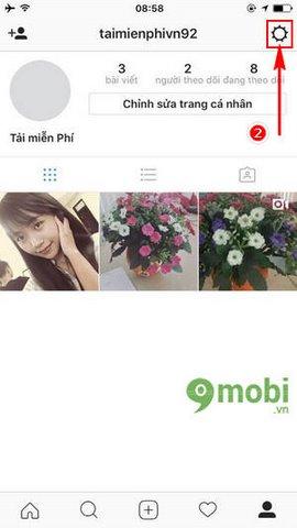 cach an binh luan khong phu hop Instagram