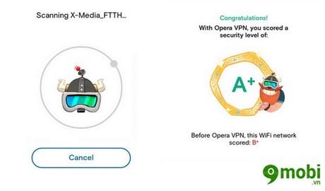 bao mat wifi tren android bang opera free vpn