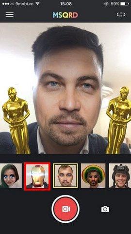 Làm ảnh Iron Man trên iOS