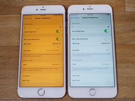 Thay đổi màu màn hình trên điện thoại iPhone
