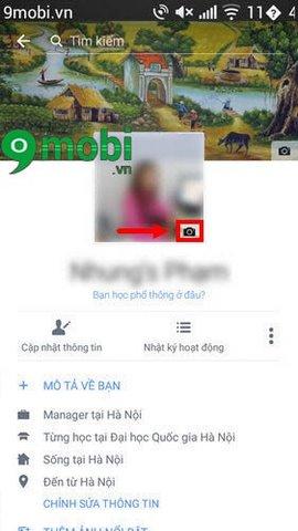 lam anh dai dien facebook bang video