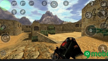 choi counter strike tren android