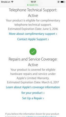 Check imei iPhone, xem thông tin iPhone, kiểm tra serial Apple
