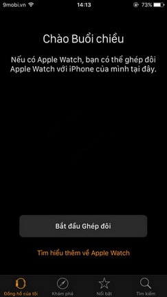 tat am thanh apple watch