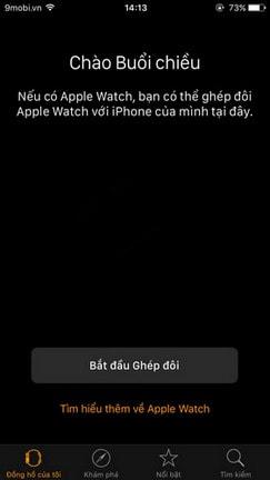 tat am thanh apple watch