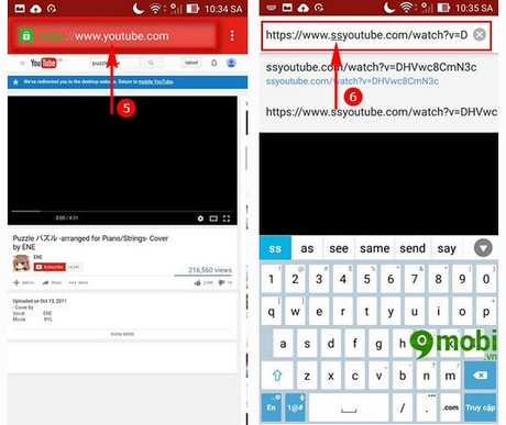 tai nhac mp3 tu youtube tren Android