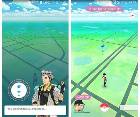 choi Pokemon GO tren Samsung