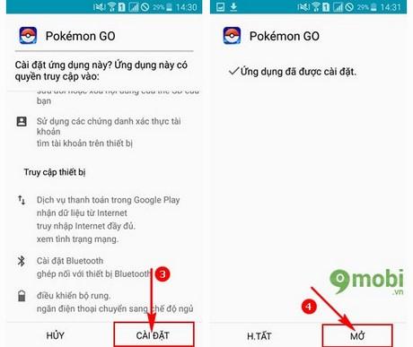 tai Pokemon GO cho Oppo