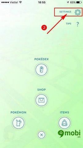 cach doi ten trong Pokemon GO
