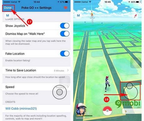 Fake GPS Pokemon Go trên iPhone 6Plus, 6s, 5s, Cách Fake GPS bắt Pokem