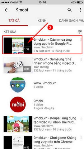 cach tat tu dong phat Youtube tren iPhone