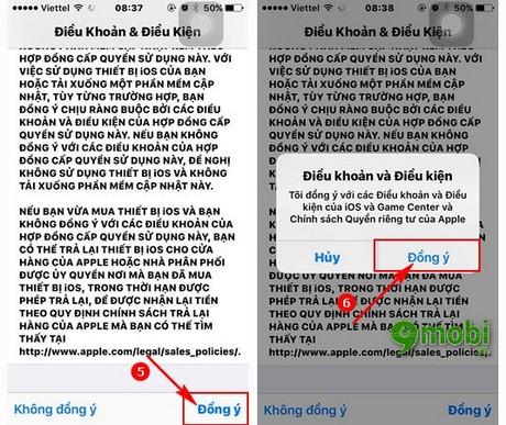 thuc hien nang cap iOS 9.3.5 cho ipad