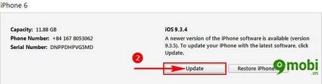 update ios 9.3.5 bang itunes