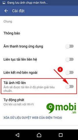 cach up anh HD len Facebook