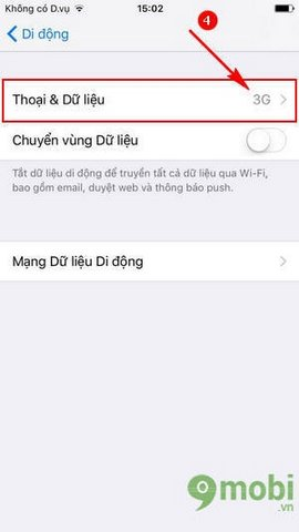 cach dung 4g iPhone 7 Plus