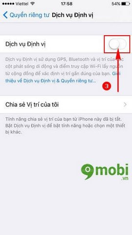 su dung GPS tren iPhone 7 Plus