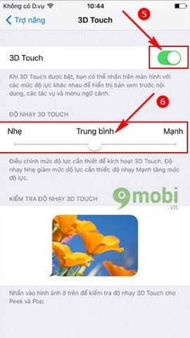 bat 3d touch iPhone 7, 7 Plus