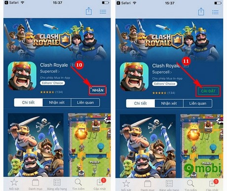 Clash Royale cho iPhone