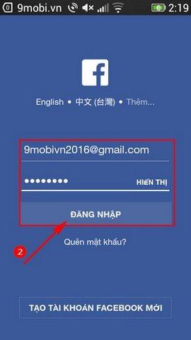 cach live Facebook tren Oppo