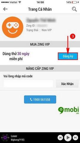 Zing Vip Free cho iPhone 6