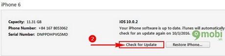 huong dan ha cap iOS 10.0.2