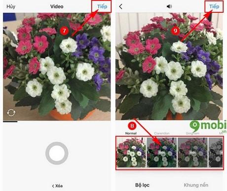 upload video len instagram tren dien thoai
