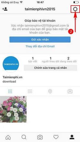 cach bo lien ket tai khoan instagram