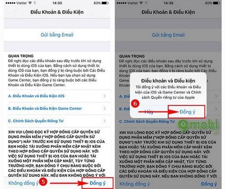 cach update ios 10 cho iPad
