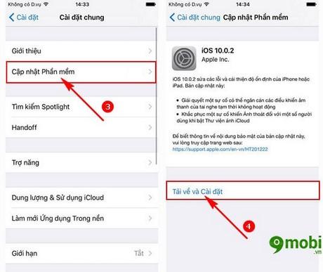 update iOS 10.0.2