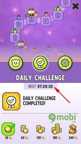 nhan daily challenge my talking tom