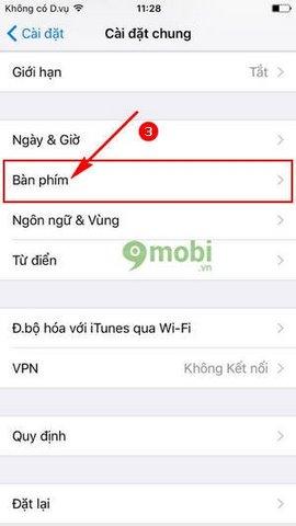 Huong dan go tieng viet iPhone 7 Plus