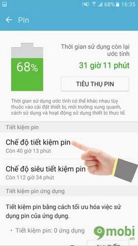 Tiết kiệm pin Samsung J7 Prime, cách bật chế độ tiết kiệm pin Samsung