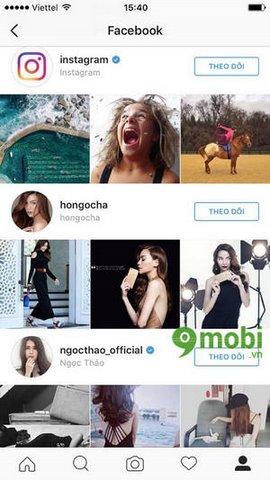 huong dan tim ban instagram qua Facebook