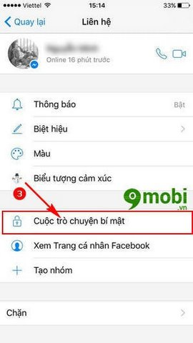 tinh nang tro chuyen bi mat Facebook Messenger