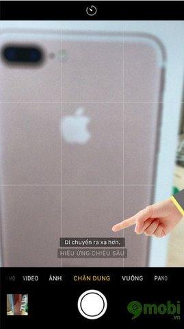 chup anh xoa phong iPhone 7 Plus