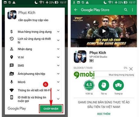 phuc kich cho android
