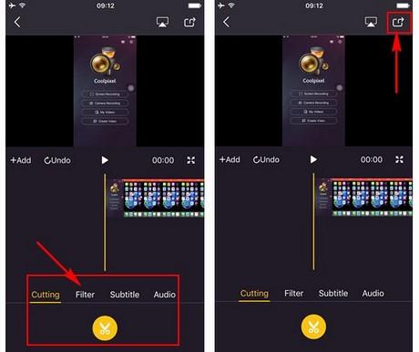 huong dan quay video man hinh tren iphone, iPad