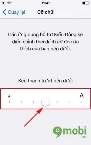 huong dan doi co chu iphone 7