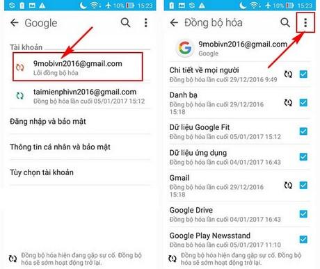 huong dan xoa tai khoan gmail zenfone