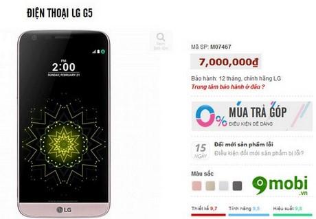 điện thoại giá 7 triệu tốt nhất
