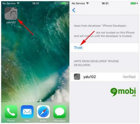 jailbreak ios 10.2 cho iphone