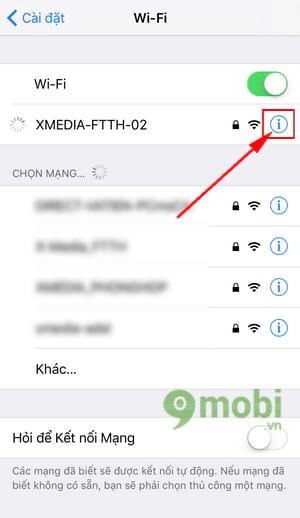 thiet lap ip tinh cho iphone 5 6