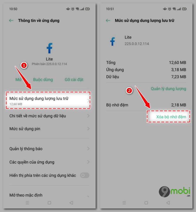 khac phuc loi khong vao duoc facebook lite