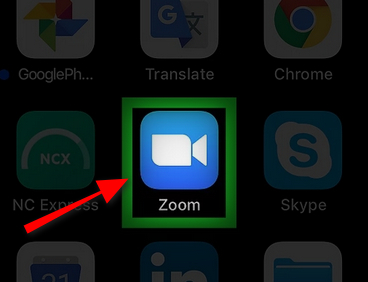 chia se man hinh trong zoom tren iphone