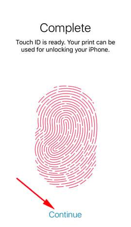 cai khoa van tay iphone