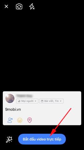 phat video truc tiep facebook