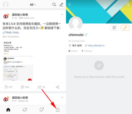 dang ky tai khoan weibo